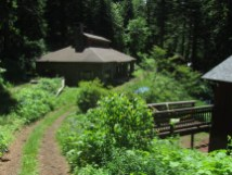 Trails Club of Oregon's Nesika Lodge.