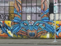 Feathered Bear & Owl - ABZs by Derek Yost - SE 10th and Taylor