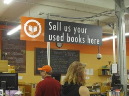 One the thing that got Powell's going was the used books. You sell off your college books from one term and pick up used books cheap for the next term.