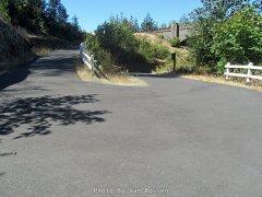 Switch Back on a bike trail