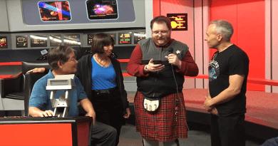 Treksphere on YouTube – Interview  Doug Drexler, & Michael and Denise Okuda