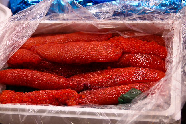 Some lovely fish roe
