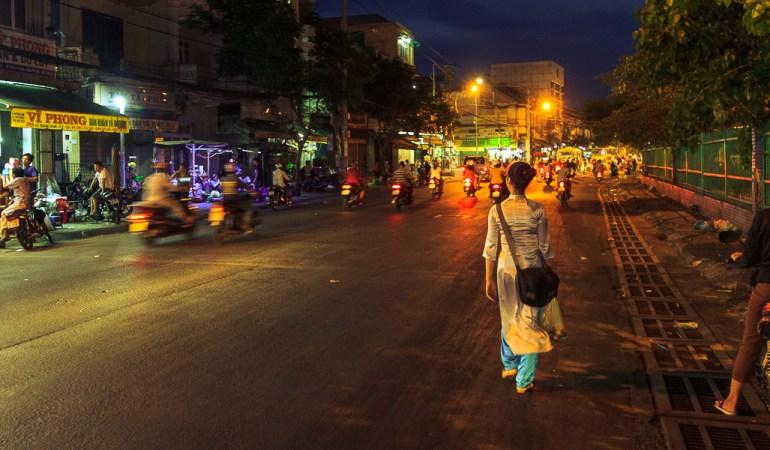 Zooming through the Saigon Night