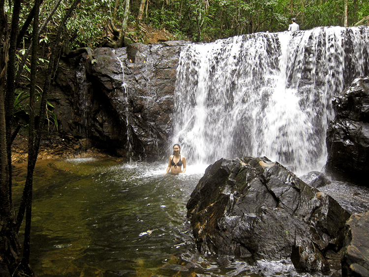 Suối Tranh is one of the scenic waterfalls in Phu Quoc (Jennifer Yin/flickr)