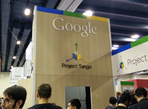 Google showed of Project Tango