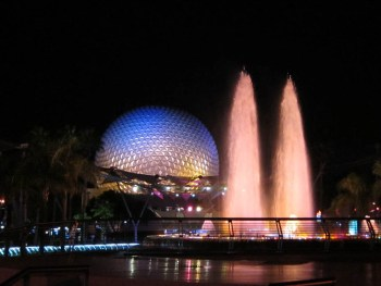 Florida and Disney's Epcot