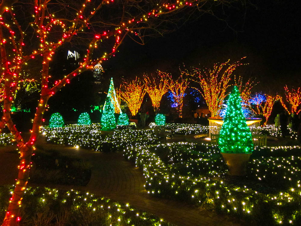 Atlanta Botanical Garden Lights