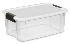 Clear Sterilite Storage Box