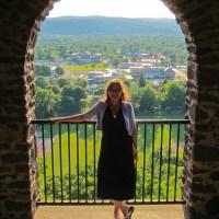 Kathy at Poet's Seat Tower