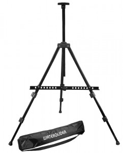 Lightweight Multi-purpose Aluminum Easel with Travel Tote Bag