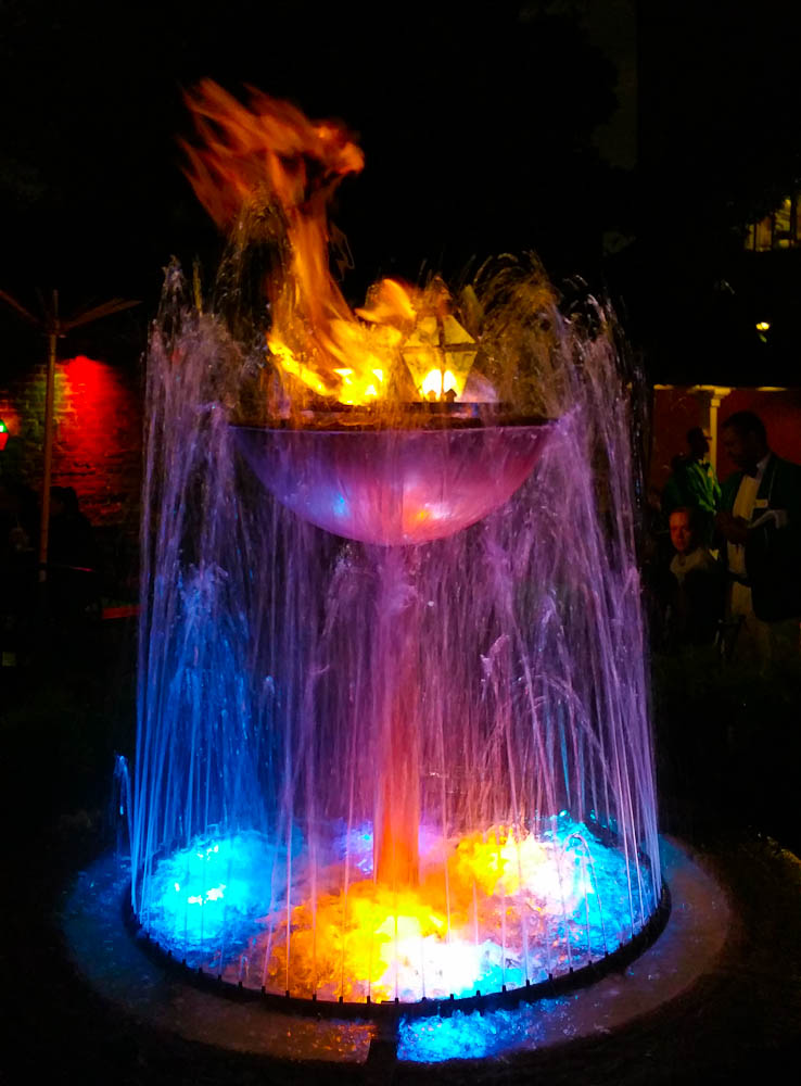Patty O's Fountain in New Orleans