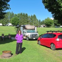 Kathy at Vermont Campground