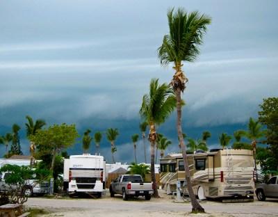 RV Park Storm