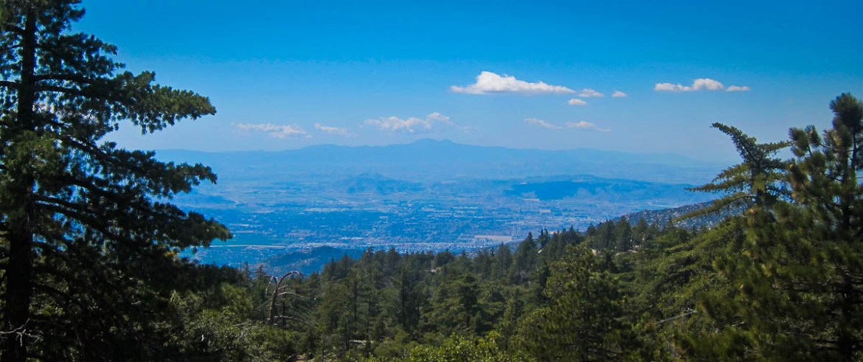 View toward Hemet