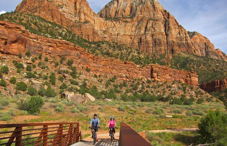 Biking Zion National Park