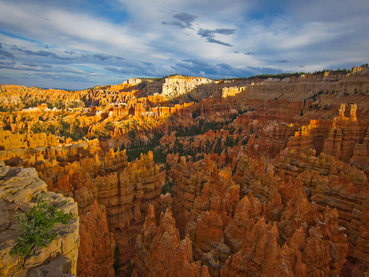 Bryce Canyon Looking Toward Inspiration Point