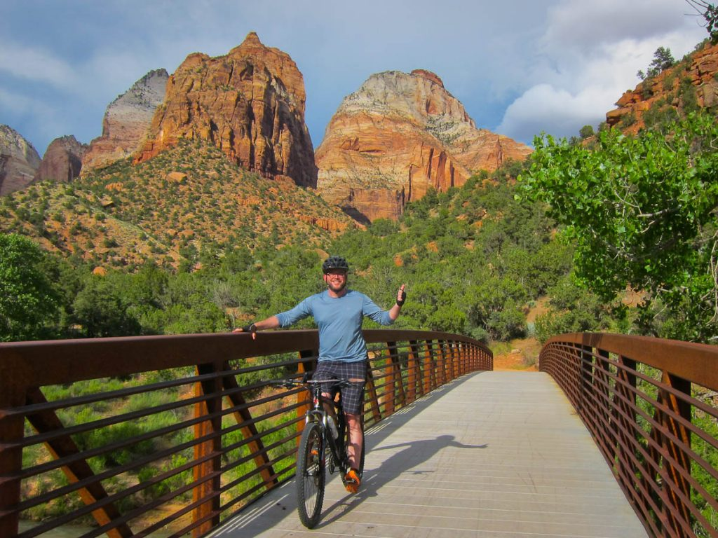 Rich Biking through Zion