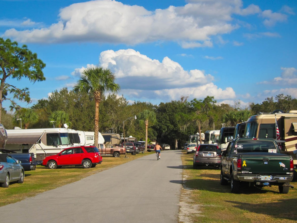 RV Parking Lot - Time to Move On!