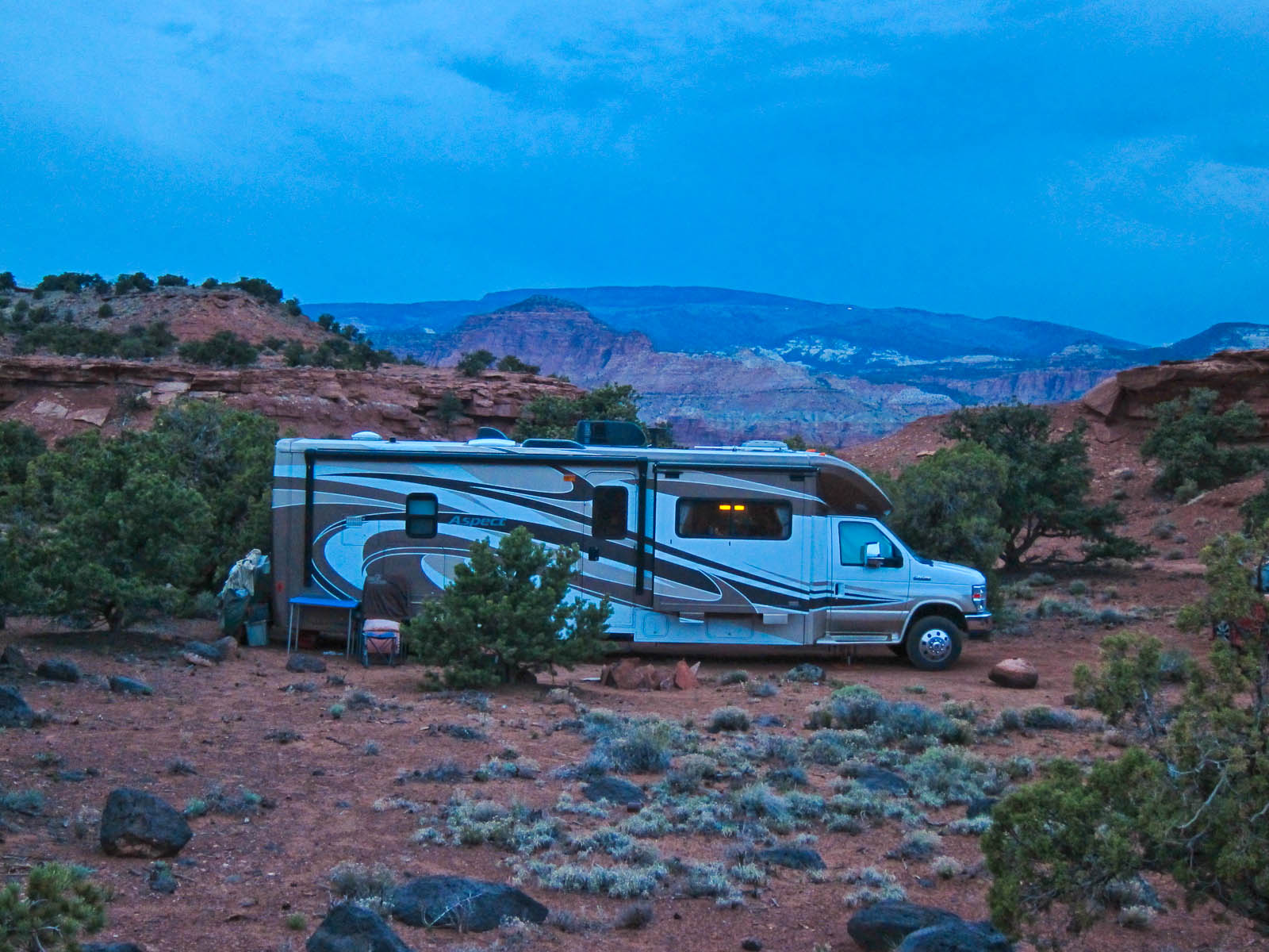 Our Boondocking Spot