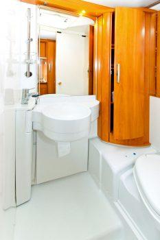 Small RV Bathroom