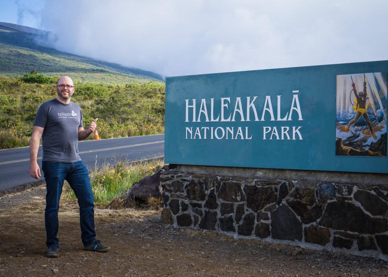 Haleakala National Park Entrance