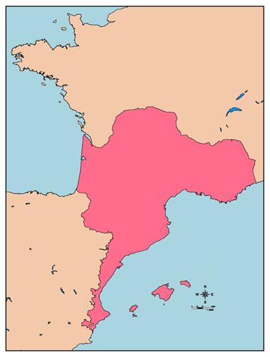 Mapa del diasistema occitano-romànic