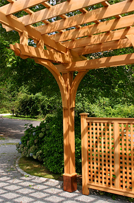 Large Carport Pergola No Ctp9 By Trellis Structures