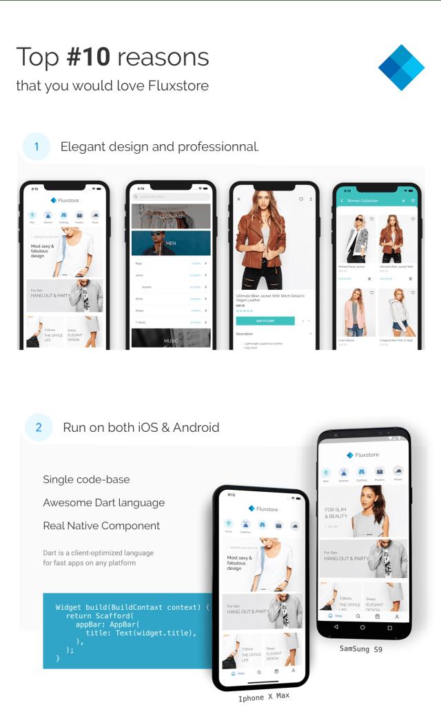 Flutter Mobile App - FluxStore Pro - Flutter E-commerce Full App for Magento, Opencart, and Woocommerce - 8