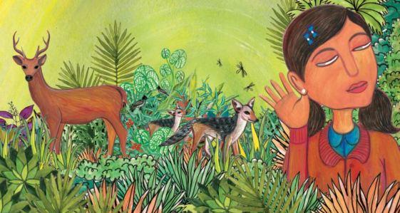 Bienvenue dans la forêt est une histoire pour apprendre les animaux