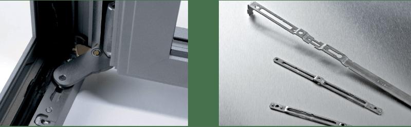 Profils pour fenêtres et portes