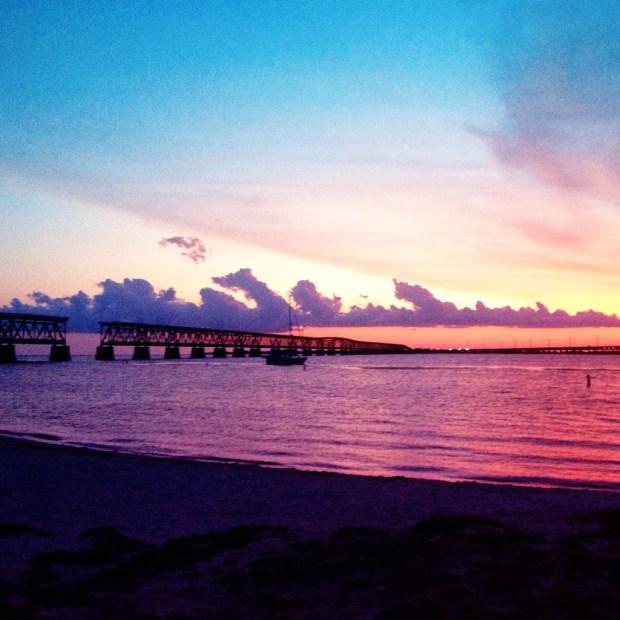 A Bahia Honda sunset