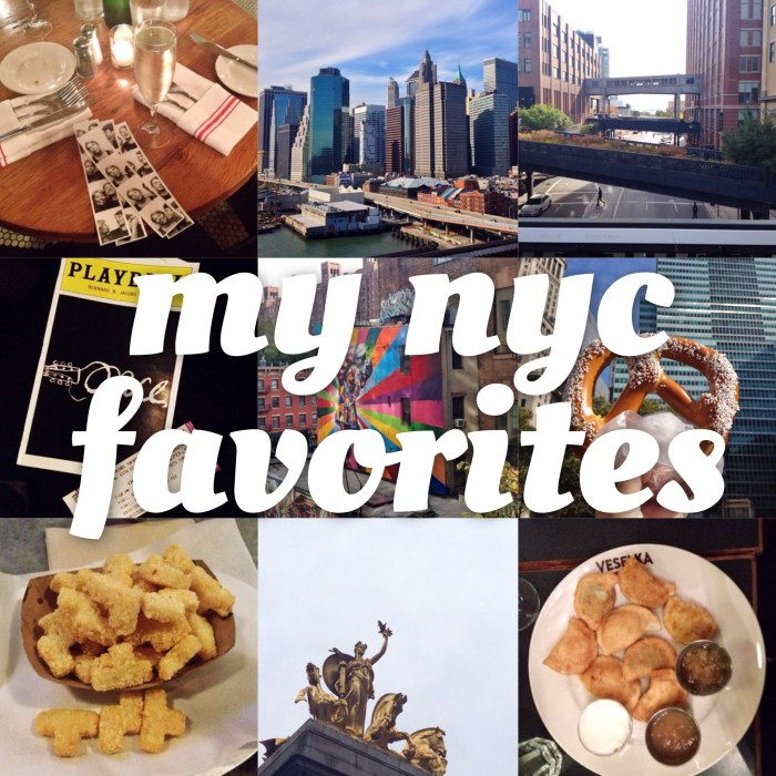 Rediscovering NYC's Charm: My 9 Favorites in the Big Apple
