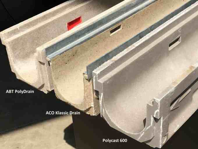 Polymer Concrete Trench Drain In The Beginning Trench Drain Systems