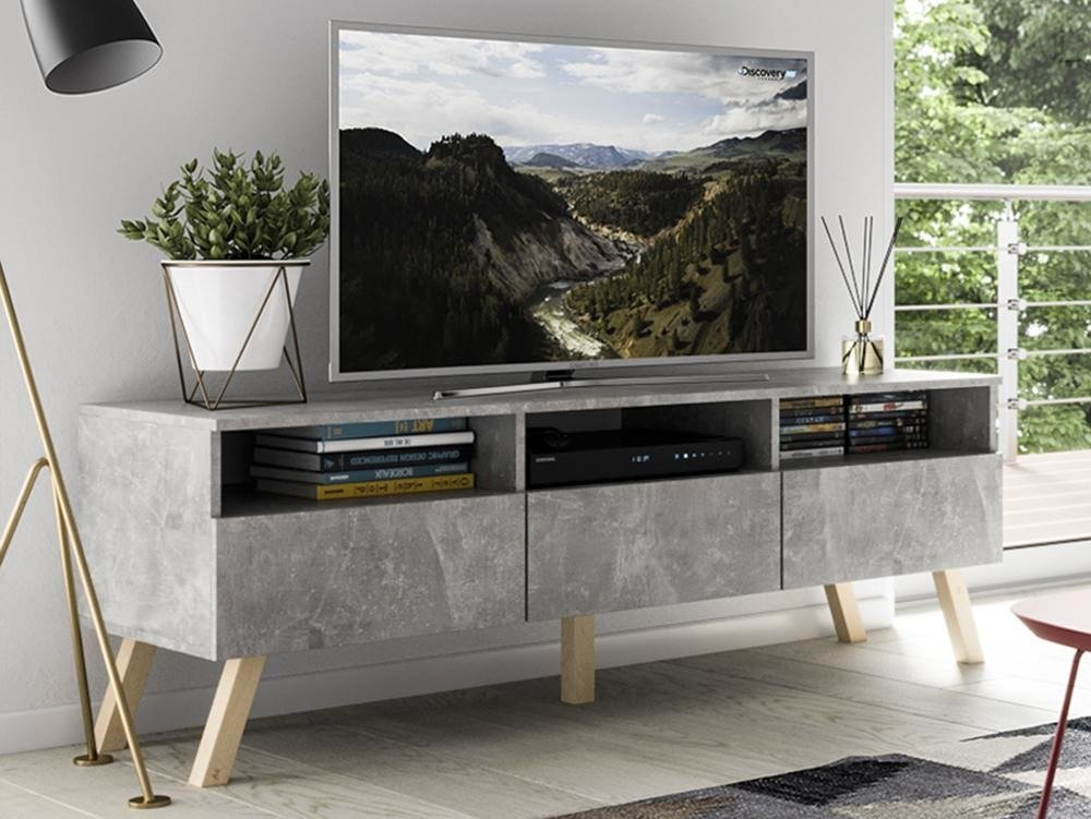 tv unit astra marble effect 150 cm