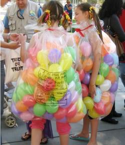 お菓子の袋キャンデー