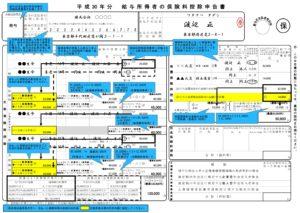 H30年分マルホ国税庁記入例