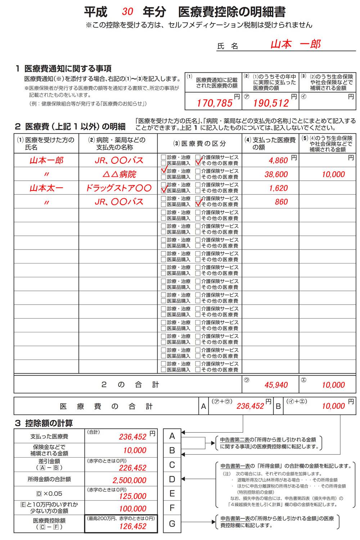 H30年分_新医療費控除の明細書00図
