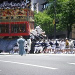 祇園祭 有料観覧席