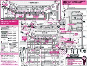 豊橋交通案内図
