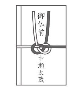 お彼岸_香典