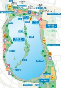 大濠公園図