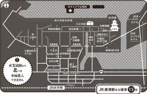 九州花火大会周辺図