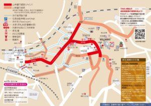 成田祇園祭 運行図