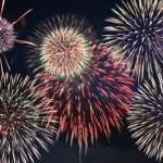 按針祭の花火