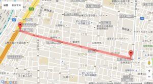 下町七夕まつりマップ