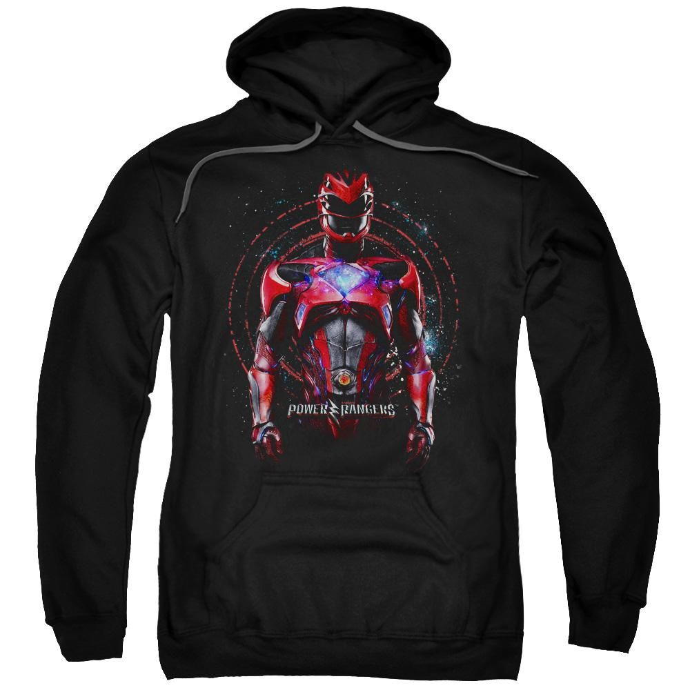 Power Rangers - Red Ranger Adult Pull Over Hoodie - 4X