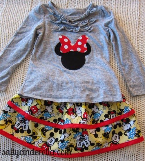 DIY Princess Outfits for Disney World: When you need a comfy alternative to itchy polyester