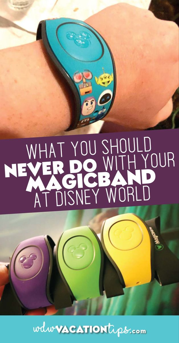 What you Should Never Do with your MagicBand
