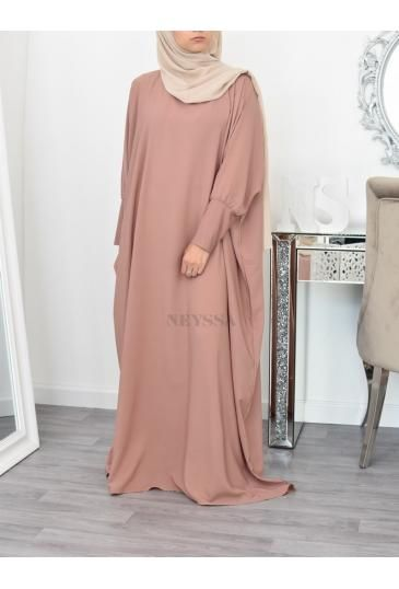 Robe longue Abaya mastour pas chèr, vêtement habil femme musulmane - Neyssa Boutique