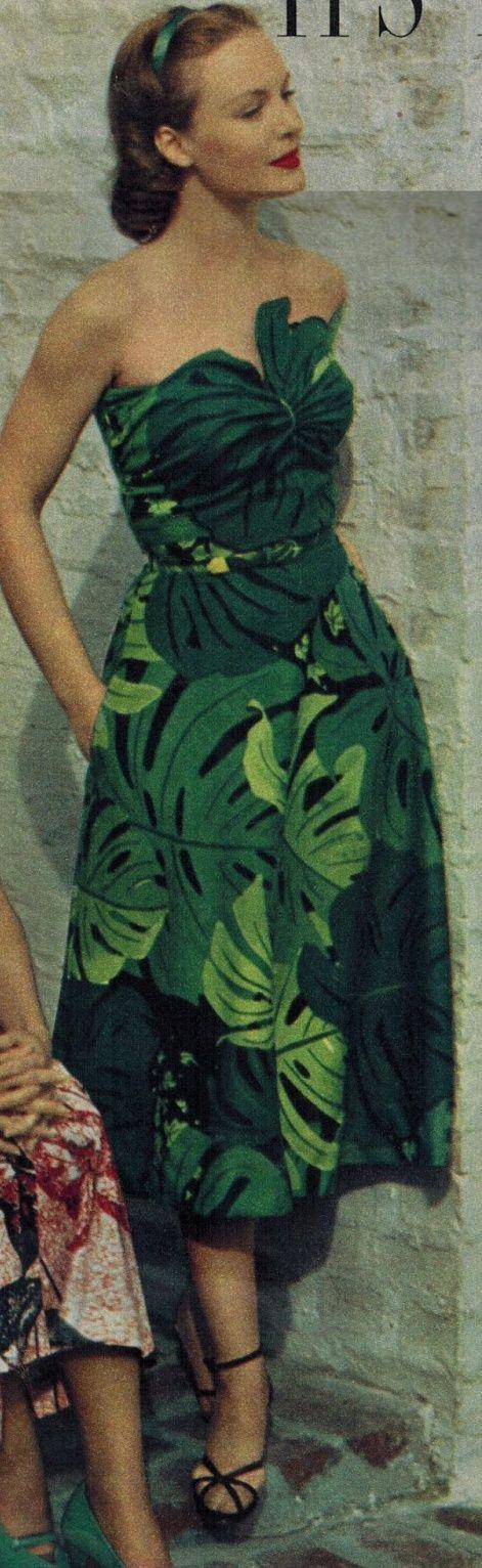 Resort Fashions 2013 - Vintage 1950 Styles!